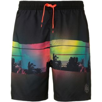Protest Badeshorts Herren true black
