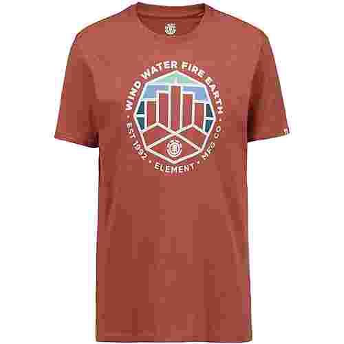 Element Passage T-Shirt Herren etruscan red