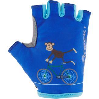 Roeckl Toro Fahrradhandschuhe Kinder monaco blue