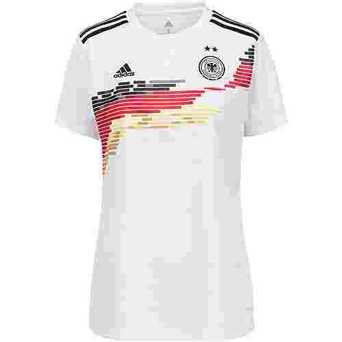 adidas DFB Frauen WM 2019 Heim Fußballtrikot Damen white