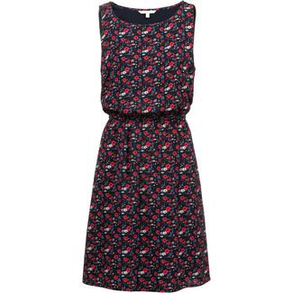 TOM TAILOR Minikleid Damen flower print dark blue