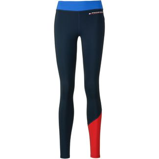 Tommy Sport Leggings Damen princess blue
