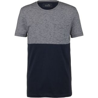 TOM TAILOR T-Shirt Herren sky captain blue