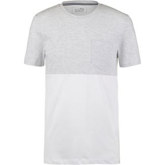 TOM TAILOR T-Shirt Herren white