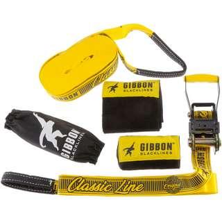 GIBBON Classicline Treewear Slackline yellow
