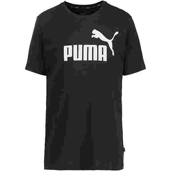 PUMA ESS Logo T-Shirt Herren cotton-black