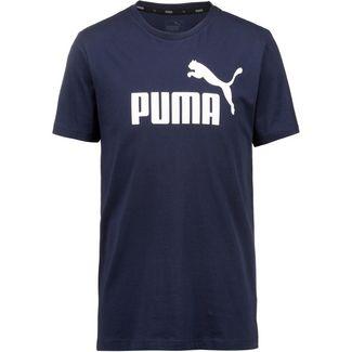 PUMA ESS Logo T-Shirt Herren peacoat