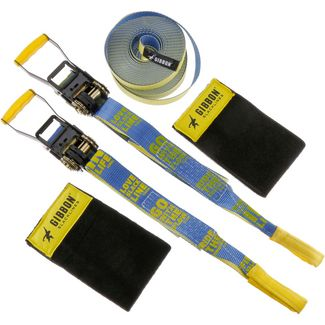 GIBBON Flowline Treewear Set Slackline yellow-blue