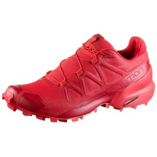 Salomon Speedcross 5 Trailrunning Schuhe Herren high risk red-barbados cherry-barbados cherry