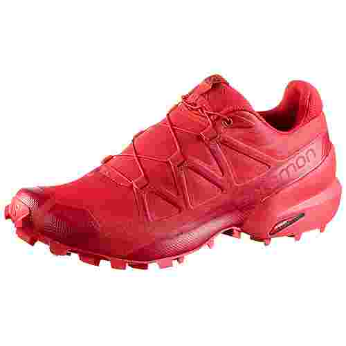 Salomon Speedcross 5 Trailrunning Schuhe Herren high risk red-barbados cherry-barbados cherry