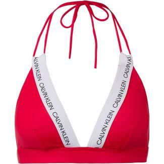 Calvin Klein CK LOGO Bikini Oberteil Damen laras lipstick