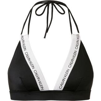 Calvin Klein CK LOGO Bikini Oberteil Damen pvh black
