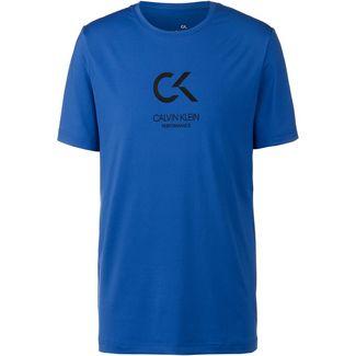 Calvin Klein Funktionsshirt Herren nautical blue-bright white