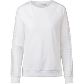 TOM TAILOR Sweatshirt Damen white