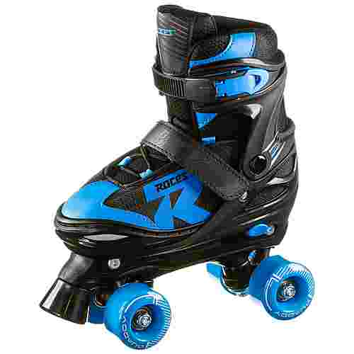 ROCES Quaddy Boy 2.0 Rollschuhe Kinder black-astro blue