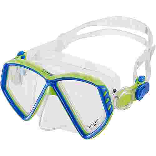 AQUA LUNG Cub JR Taucherbrille Kinder light blue-bright green