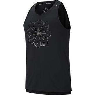 Nike Miller Cool Funktionstank Herren black