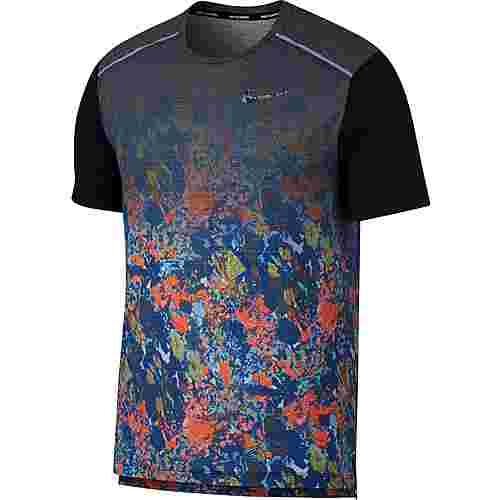 Nike Rise 365 Laufshirt Herren indigo force