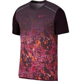 Nike Rise 365 Laufshirt Herren laser fuchsia