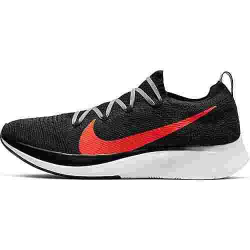 Nike Zoom Fly Flyknit Laufschuhe Herren black-bright crimson