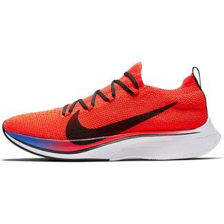 Nike Vaporfly 4% Flyknit Laufschuhe Herren bright crimson-black