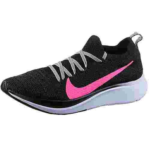 Nike Zoom Fly Laufschuhe Damen black-hyper pink-blue tint