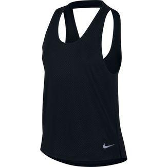 Nike Miler Funktionstank Damen black-reflective silver
