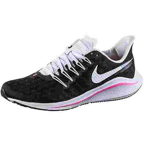 Nike Air Zoom Vomero 14 Laufschuhe Damen black-hyper pink-football grey-pink beam