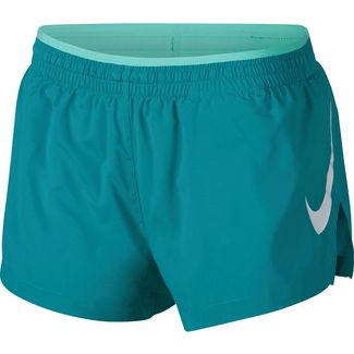 Nike Elevate Laufshorts Damen spirit teal-tropical twist