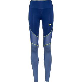 Nike Tights Damen indigo force-indigo storm