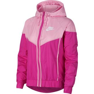 Nike NSW Windbreaker Damen active-fuchsia-pink-rise