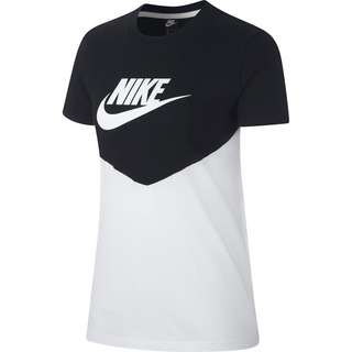 Nike NSW T-Shirt Damen black-white