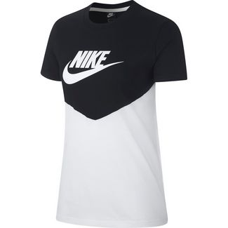 Nike NSW T-Shirt Damen black-white