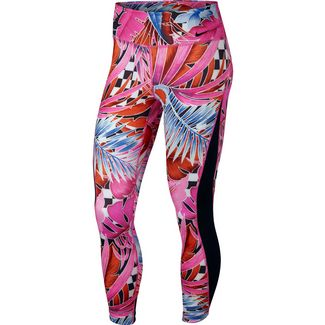 Nike Tights Damen laser fuchsia-black-white