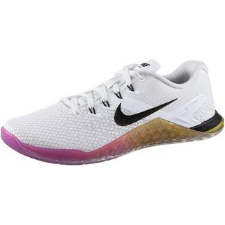 Nike Metcon 4 XD Fitnessschuhe Damen white-black-univ gold-laser fuchsia