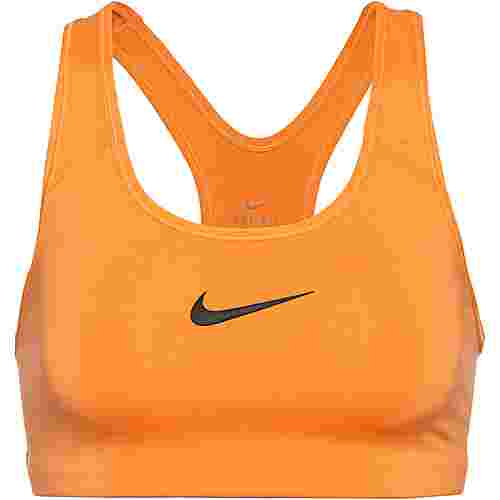 Nike Swoosh Sport-BH Damen fuel orange-black