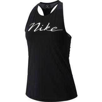 Nike Pro Tanktop Damen black-white