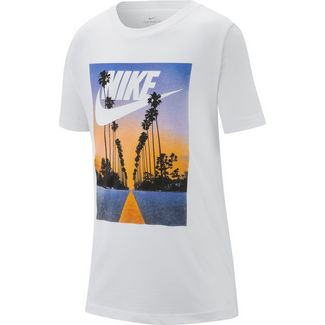 Nike T-Shirt Kinder white