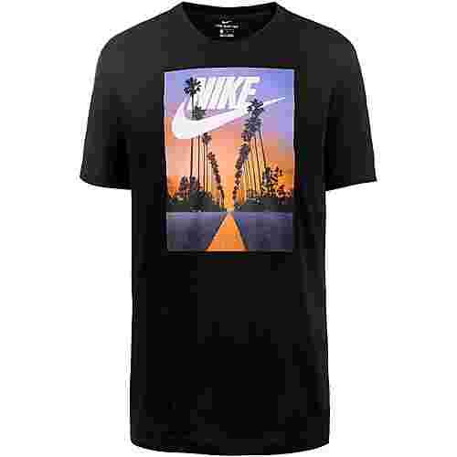 Nike NSW Sunset Palm T-Shirt Herren black