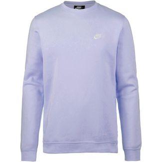 Nike NSW Club BB Sweatshirt Herren oxygen purple