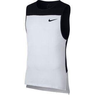 Nike Pro T Shirt Damen laser fuchsia black im Online Shop von SportScheck kaufen
