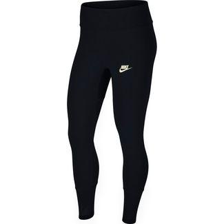 Nike NSW Leggings Damen black-pale ivory