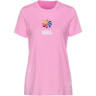 Nike NSW T-Shirt Damen pink rise