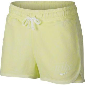 Nike NSW Shorts Damen luminous green-summit white