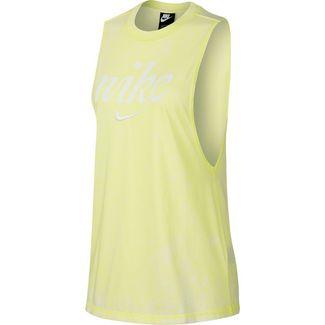 Nike NSW Tanktop Damen luminous green-summit white
