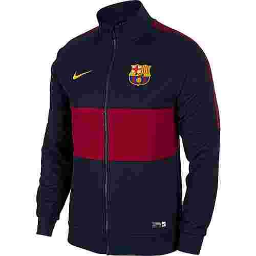 Nike FC Barcelona Trainingsjacke Herren obsidian-noble red-noble red-university gold
