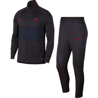 Nike Paris Saint-Germain Trainingsanzug Herren oil grey-university red