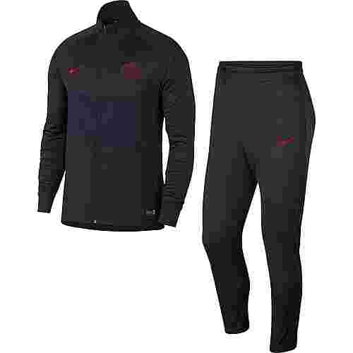 Nike Paris Saint-Germain Trainingsanzug Herren oil grey-university red