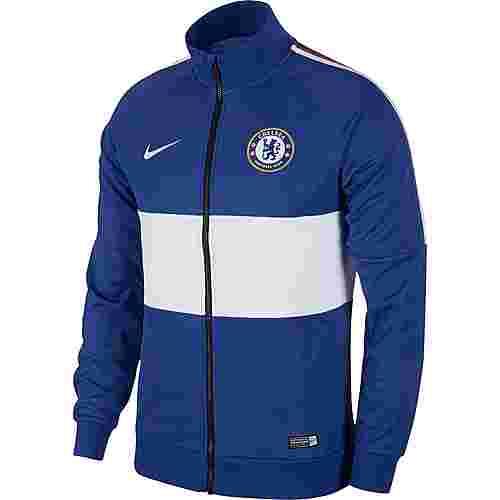 Nike FC Chelsea Trainingsjacke Herren rush blue-white-white