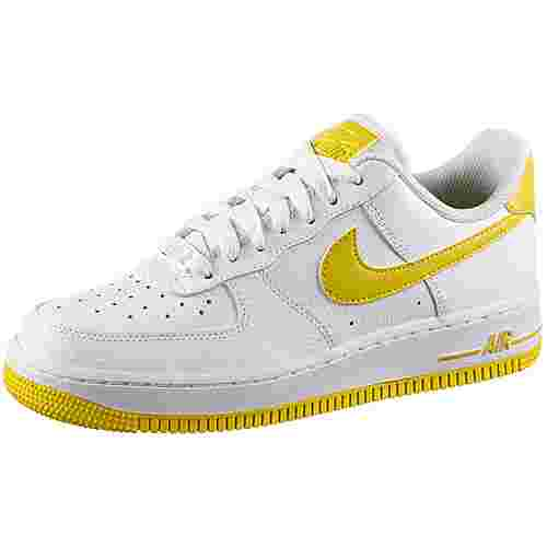 Nike Air Force 1 ´07 Sneaker Damen white-bright citron
